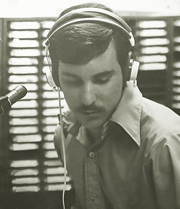 1969 (age 19) - as a DJ on the University of Pittsburgh's radio station WPGH