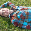 LAYING IN GRASS