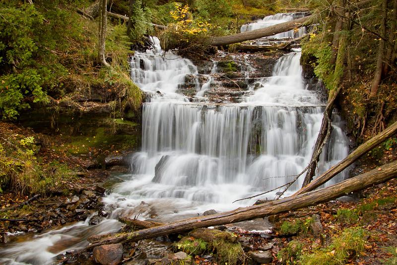 Wagner Falls near Munising