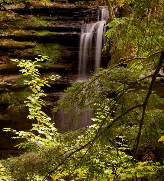 Olesen Falls Near Munising Michigan