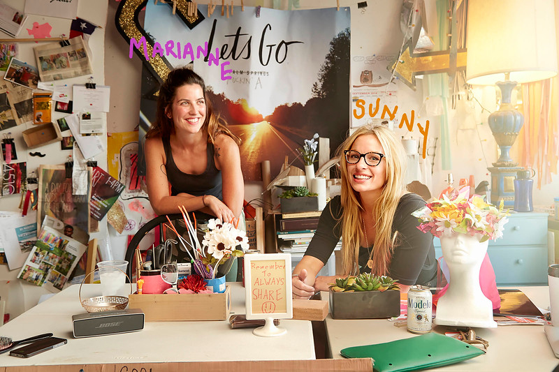 Sunny Sliger and Marianne Newsom