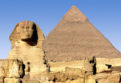 THE SPHINX - GIZA