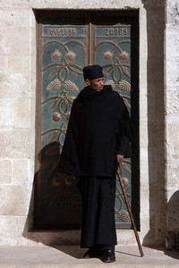 ETHIOPIAN ORTHODOX PRIEST - JERUSALEM