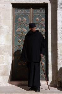 ETHIOPIAN ORTHODOX PRIEST - JERUSALEM