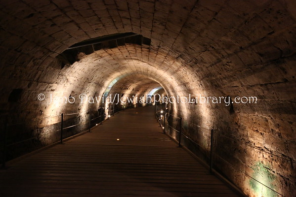 ISRAEL, Akko. Templars Tunnel (4.2015)