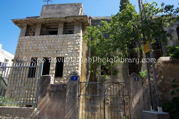 ISRAEL, Haifa. Synagogue, abandoned (4.2016)