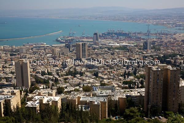 ISRAEL, Haifa. Haifa vistas (4.2016)