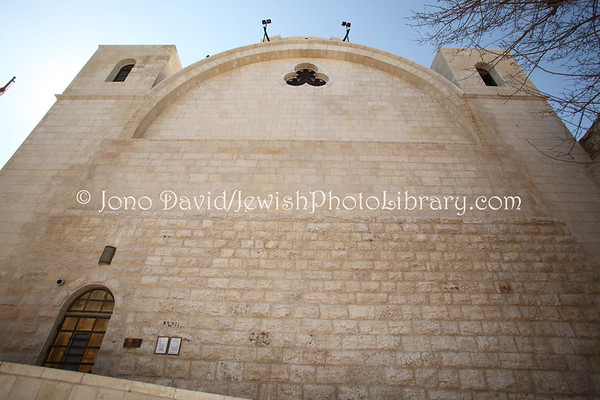 ISRAEL, Jerusalem, Old City, Jewish Quarter. Hurva Synagogue (3.2012)