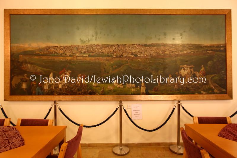 IL 6257  Painting located at Christ Church, near Jaffa Gate