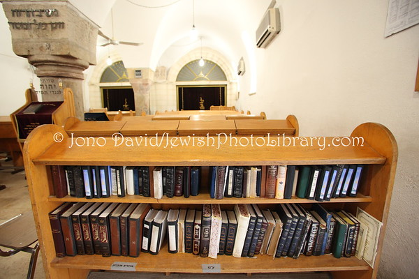 ISRAEL, Jerusalem, Old City, Jewish Quarter. Ramban Synagogue (located beneath the Hurva Synagogue) (3.2012)