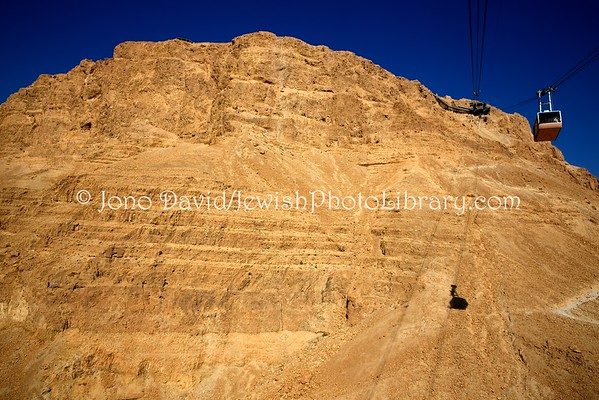 ISRAEL, Masada. Masada cable car (3.2016)
