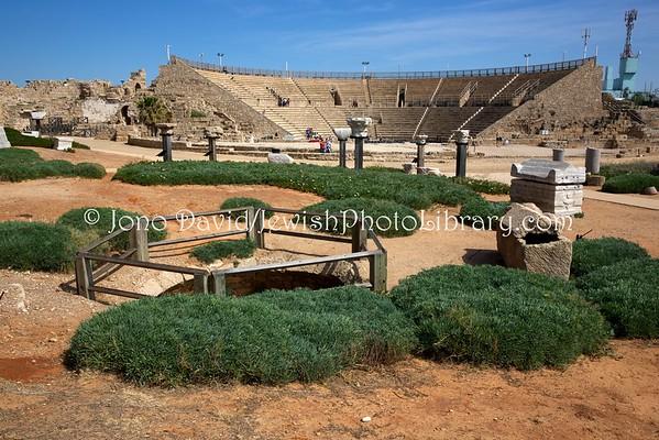 ISRAEL, Caesarea. Caesarea (4.2016)