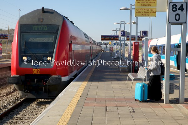 ISRAEL. Israel Rail (train) (4.2016)