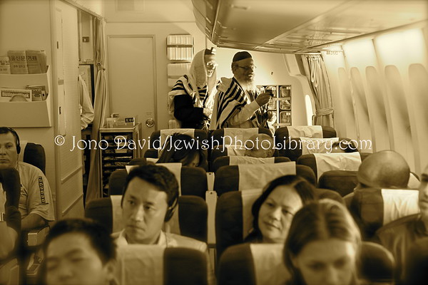 ISRAEL. Korean Airlines flight KE958, Tel Aviv to Seoul, March 6, 2010.