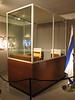 IL 5257  Adolf Eichmann trial booth  Beit Hatfutsot Museum, Tel Aviv
