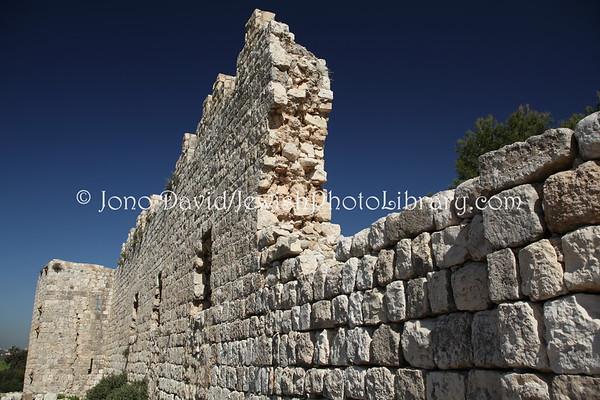ISRAEL, Rosh Ha'Ayin. Tel Afek at Antipatris. (2.2010)