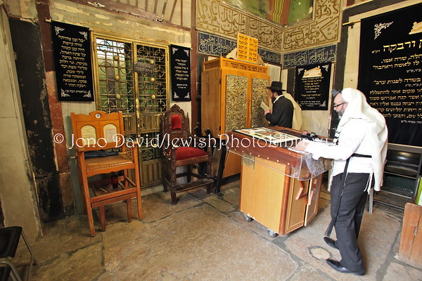 WEST BANK, Hebron. Cave (Tomb) of the Patriarchs (Cave of Machpelah; Ma'arat HaMachpela). (3.2012)