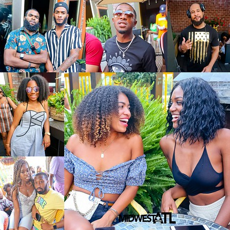 MIDWEST TAKEOVER ATL ROOFTOP DAY PARTY @ 421 HOOKAH LOUNGE 6-15-19