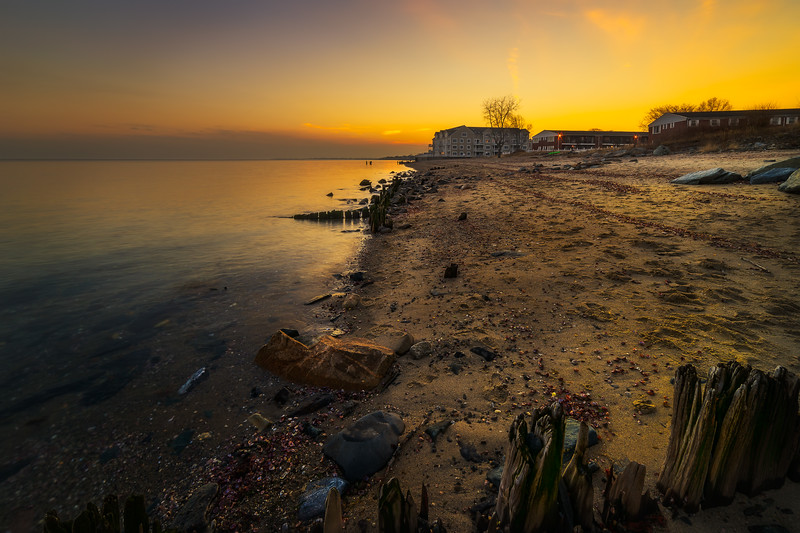 Walnut Beach, Milford, Connecticut, USA.