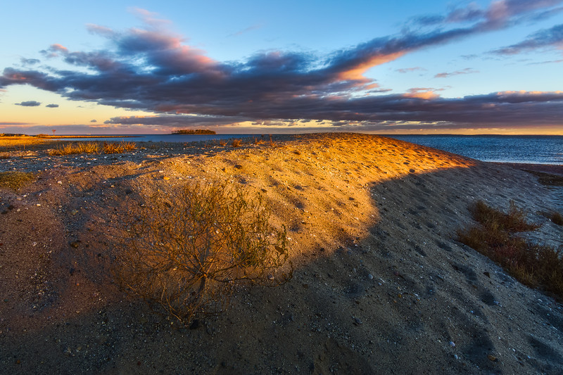 Silver Sands State Park, Milford, Connecticut, USA.