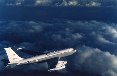 Airborne Command Post off the coast of Hawaii