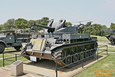 M-42 Duster With Anti-Aircraft Guns