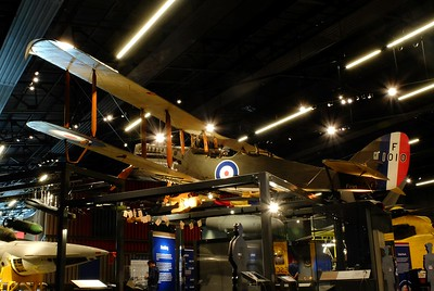 FIRST WORLD WAR IN THE AIR, RAF MUSEUM, HENDON, 8th May 2018