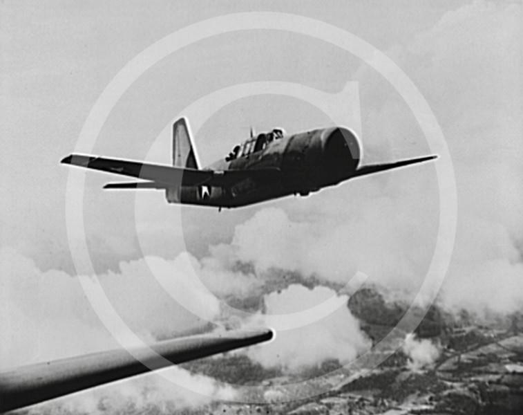 Vultee A-31 Vengeance dive bomber, December 1942