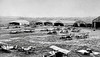 American aviation field, France 1918.