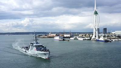HMS Tamar Show Reel