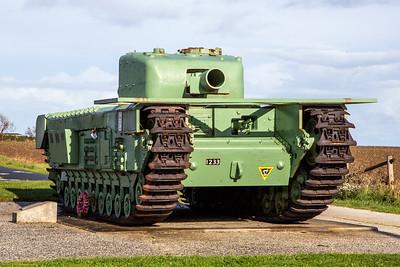 Churchill Tank Memorial