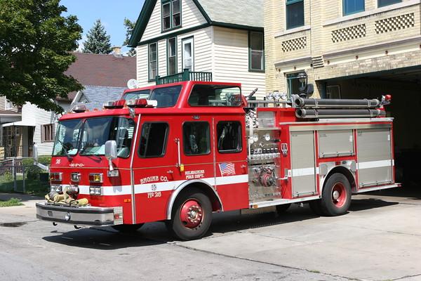 Milwaukee FD August 2005