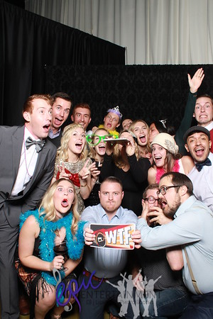 MINDBODY Sales Department Winter Party