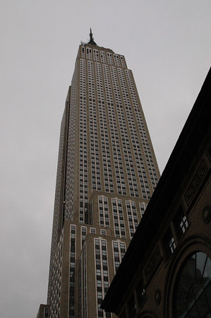 10-24-04 MINIs in Manhattan Sunrise run 026