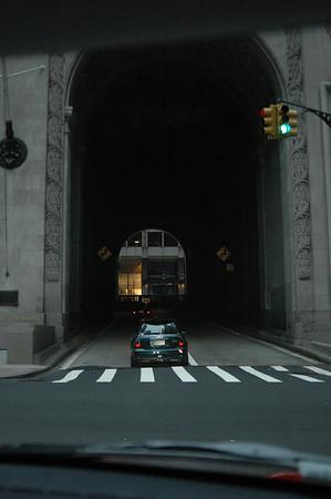10-24-04 MINIs in Manhattan Sunrise run 025