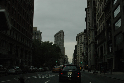 10-24-04 MINIs in Manhattan Sunrise run 028