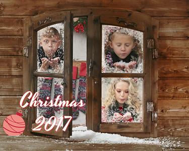 Christmas Window Collage