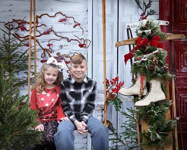 16x20 Christmas Swing