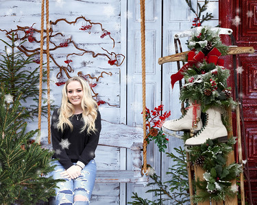 16x20 Christmas Swing Makenzie