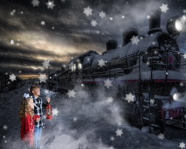 16x20 Polar Express