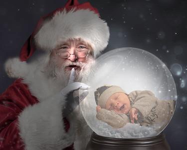 Ryker Sleeping in Globe