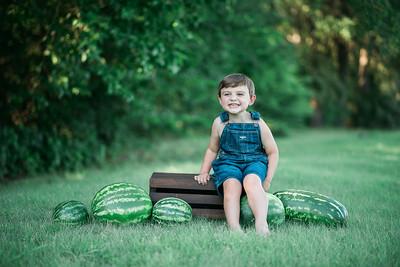 Lucas & Delilah | Watermelon Minis