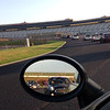 day 1, arriving at Atlanta Motor Speedway along with everyone else