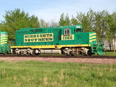 Train Minnesota Southern locomotive Luverne Rock Co MN IMG_6173