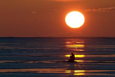 Ice fishing Lk Superior Brighton Beach Duluth MN Stensaas CRW_1309