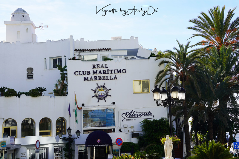 The Real Club Maritimo, celebrity watering hole right on the beaches of MARBELLA!