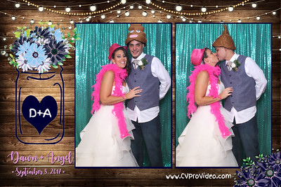 DAWN AND ANGEL'S WEDDING 9-8-17