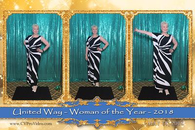UNITED WAY WOMAN OF THE YR GALA 2018