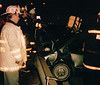 at a crash scene