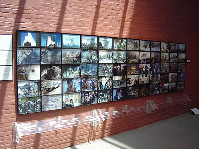 Photos from 9-11-01 located at the FDNY museum.
